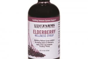 ELDERBERRY WELLNESS SYRUP SOOTHING RELIEF DIETARY SUPPLEMENT