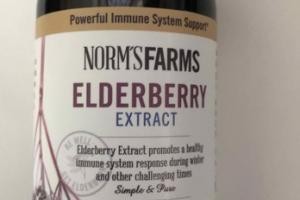 ELDERBERRY EXTRACT ELDERBERRY EXTRACT PROMOTES A HEALTHY IMMUNE SYSTEM DIETARY SUPPLEMENT
