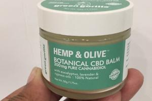 Botanical Cbd Balm With Eucalyptus, Lavender & Cypress Oils