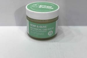 300MG PURE CANNABIDIOL HEMP & OLIVE BOTANICAL CBD BALM