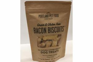 GRAIN & GLUTEN FREE BACON BISCUITS DOG TREATS