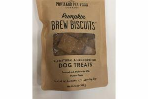 PUMPKIN BREW BISCUITS DOG TREATS