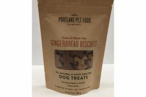 GRAIN & GLUTEN FREE GINGERBREAD BISCUITS DOG TREATS