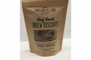 BEEF BROTH BREW BISCUITS DOG TREATS