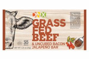 GRASS FED BEEF & UNCURED BACON JALAPENO BAR