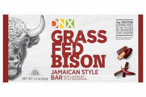 GRASS FED BISON JAMAICAN STYLE BAR WITH JAMAICAN STYLE SEASONING