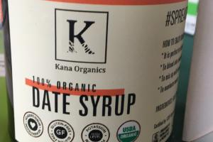100% Organic Date Syrup