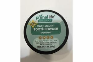 SPEARMINT TOOTHPOWDER