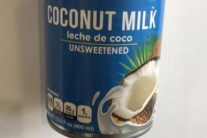 Unsweetened Coconut Milk