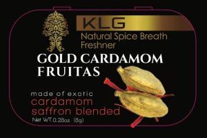GOLD CARDAMOM SAFFRON BLENDED FRUITAS