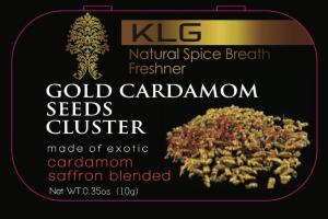 GOLD CARDAMOM SEEDS CLUSTER
