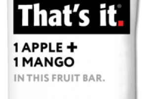 1 APPLE + 1 MANGO FRUIT BAR