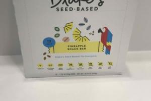 SEED-BASED PINEAPPLE SNACK BAR