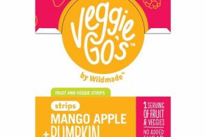 MANGO APPLE + PUMPKIN FRUIT AND VEGGIE STRIPS