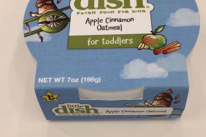 Apple Cinnamon Oatmeal Fresh Food For Kids
