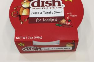 Pasta & Tomato Sauce For Toddlers