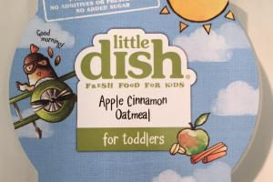 Apple Cinnamon Oatmeal For Toddlers