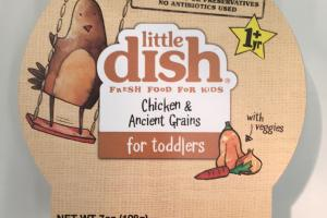 Chicken Ancient Grains For Toddlers With Veggies