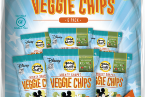 MICKEY SHAPED VEGGIE CHIPS