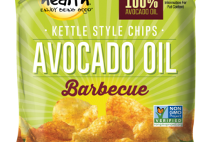 BARBECUE AVOCADO OIL KETTLE STYLE CHIPS
