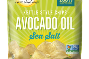 SEA SALT AVOCADO OIL KETTLE STYLE CHIPS