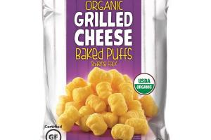 ORGANIC GRILLED CHEESE BAKED PUFFS