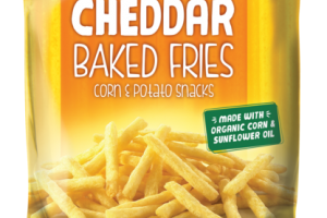 CHEDDAR BAKED FRIES CORN & POTATO SNACKS