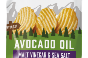 MALT VINEGAR & SEA SALT KETTLE COOKED AVOCADO OIL