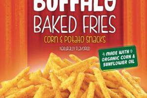 BOLD BUFFALO BAKED FRIES CORN & POTATO SNACKS