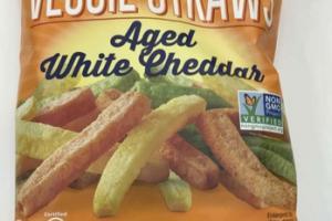 AGED WHITE CHEDDAR VEGGIE STRAWS