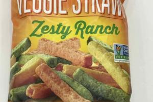 ZESTY RANCH VEGGIE STRAWS