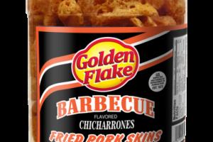 BARBECUE FLAVORED CHICHARRONES FRIED PORK SKINS