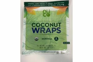 ORGANIC COCONUT WRAPS MORINGA BREAD AND TORTILLAS