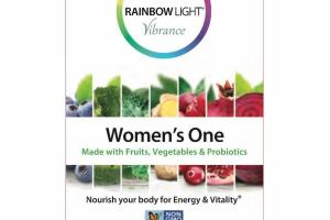 WOMEN'S ONE NOURISH YOUR BODY FOR ENERGY & VITALITY VEGETARIAN MULTIVITAMIN SUPPLEMENT TABLETS