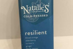 RESILIENT COLD-PRESSED JUICE BEVERAGE