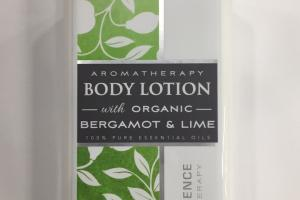 Aromatherapy Body Lotion, 100% Pure Essential Oils