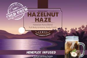 Hazelnut Haze 100% Arabica Coffee