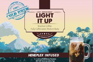 Hemp Blend Light - Medium Roast 100% Arabica Coffee