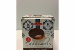CHOCOLATE-CARAMEL STROOPWAFELS
