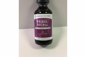 TRIBAL RECALL FOCUS/MEMORY SUPPORT ALL NATURAL DIETARY SUPPLEMENT
