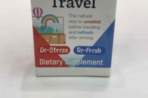 BEFORE & AFTER TRAVEL DE-STRESS, RE-FRESH DIETARY SUPPLEMENT