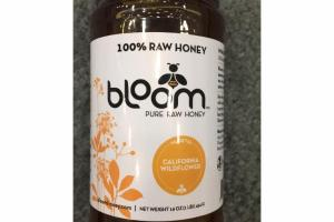 CALIFORNIA WILDFLOWER 100% PURE RAW HONEY