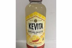 LEMON CAYENNE SPARKLING PROBIOTIC DRINK
