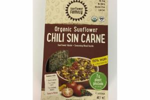 CHILI SIN CARNE ORGANIC SUNFLOWER