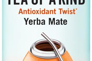 BLOOD ORANGE HIBISCUS YERBA MATE REAL BREWED TEA