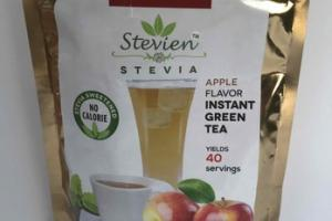 STEVIA APPLE FLAVOR INSTANT GREEN TEA