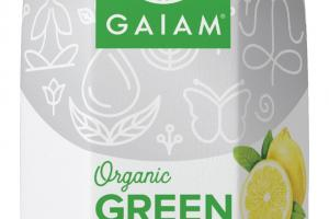 LEMON ORGANIC GREEN TEA