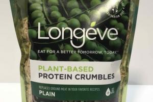 PLAIN PLANT-BASED PROTEIN CRUMBLES
