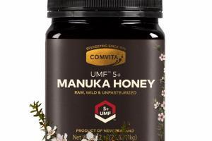 UMF 5+ MANUKA HONEY RAW, WILD & UNPASTEURIZED