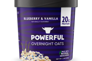 BLUEBERRY & VANILLA OVERNIGHT OATS